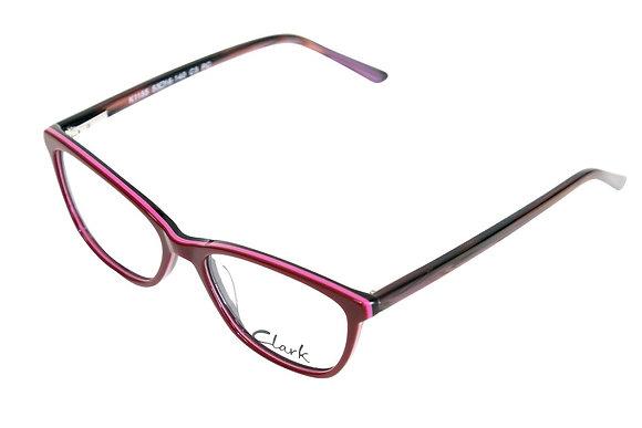 Montatura vista  CLARK 1155  003  53  16  con lenti protezione LUCE BLU