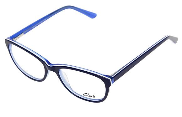 Montatura vista  CLARK 1162  002  51  17  con lenti protezione LUCE BLU