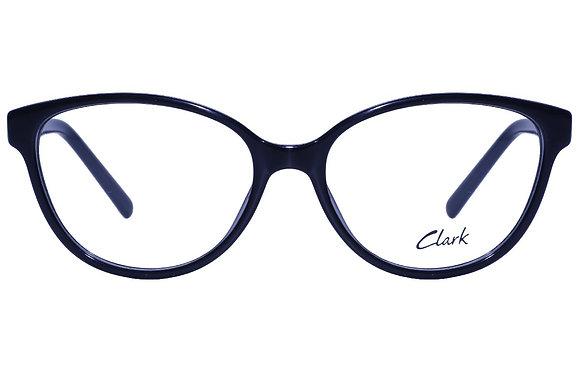 Montatura vista  CLARK 1109  001  54  16  con lenti protezione LUCE BLU
