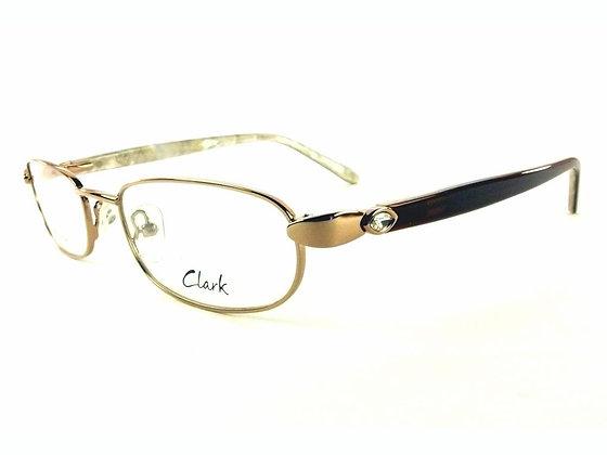 Montatura vista  CLARK 919  004  52  19 con lenti protezione LUCE BLU