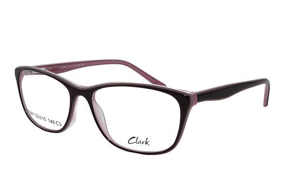 Montatura vista CLARK 1041 003 54 15  completo di lenti da vista antiriflesso