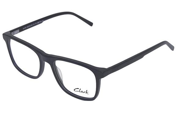 Montatura vista  CLARK 1179  003  53  18  con lenti protezione LUCE BLU