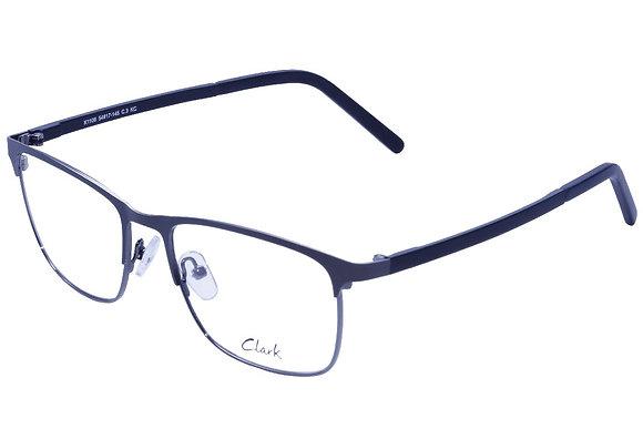 Montatura vista  CLARK 1106  003  54  17  con lenti protezione LUCE BLU