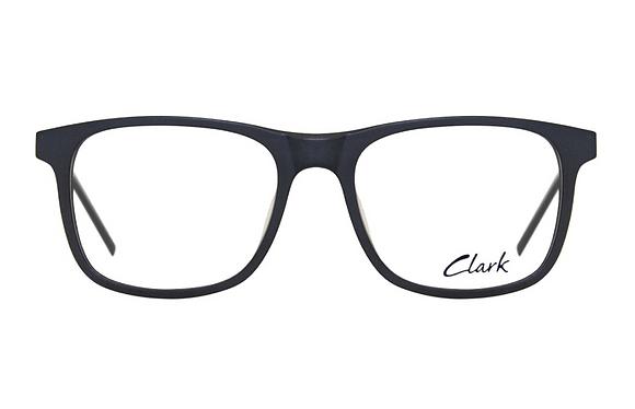 Montatura vista  CLARK 1179  001  53  18  con lenti protezione LUCE BLU
