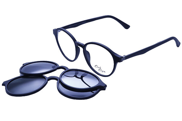 Montatura vista  CLARK 1131  001  50  18  con lenti protezione LUCE BLU