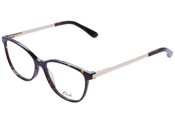 Montatura vista  CLARK 1105  003  54  15  con lenti protezione LUCE BLU
