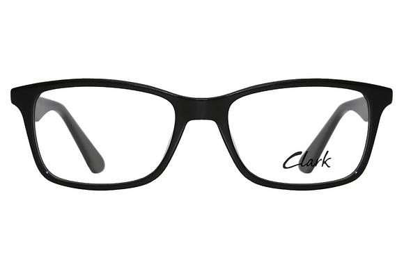 Montatura vista CLARK 1209 001 54 17  completo di lenti da vista antiriflesso