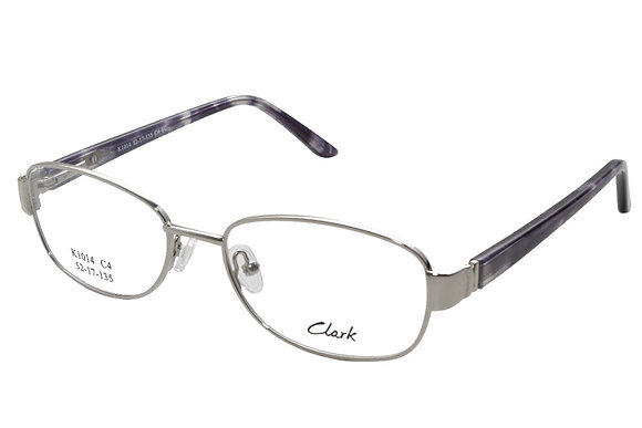 Montature vista CLARK 1014 004 52 17 completo di lenti protezione LUCE BLU