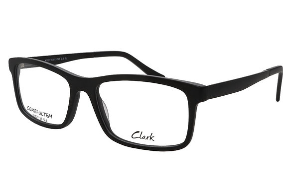 Montatura vista  CLARK 1027  003  53 17  con lenti protezione LUCE BLU