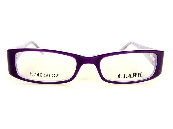 Montatura vista CLARK 746 002 50 17  completo di lenti da vista antiriflesso