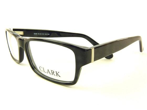 Montatura vista  CLARK 680  006  52  16  con lenti protezione LUCE BLU