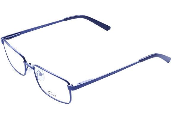Montatura vista  CLARK 1071  004  54  18  con lenti protezione LUCE BLU