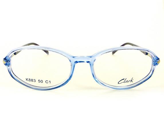 Montatura vista CLARK 883 001 48 17  completo di lenti da vista antiriflesso
