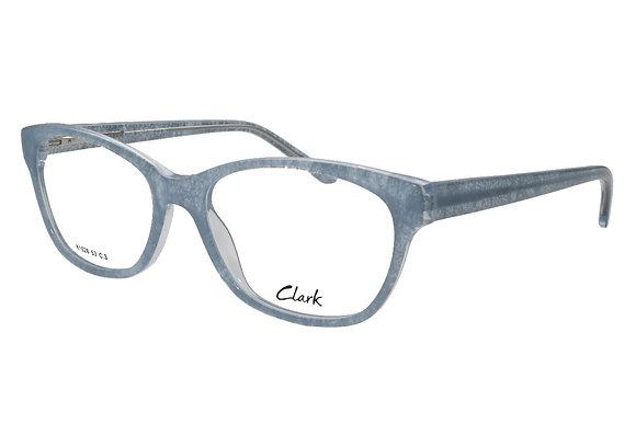 Montature vista CLARK 1028 003 53 17 completo di lenti protezione LUCE BLU