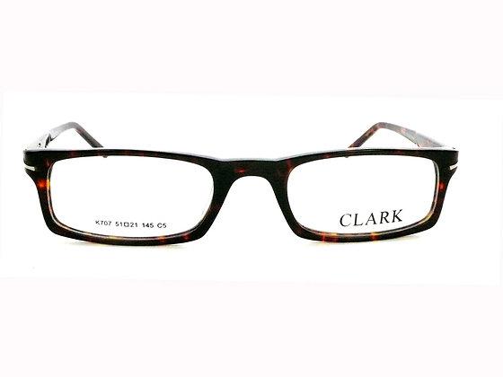 Montatura vista CLARK 707 005 51 21  completo di lenti da vista antiriflesso