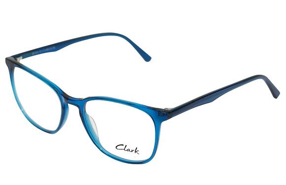 Montatura vista  CLARK 1193  004  51  17  con lenti protezione LUCE BLU