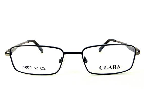 Montatura vista  CLARK 809  002  52  17  con lenti protezione LUCE BLU