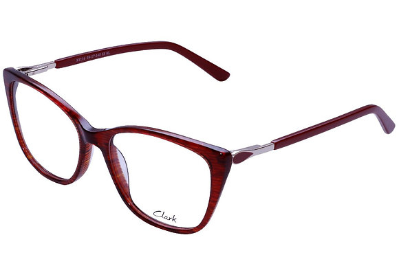 Montatura vista CLARK 1116 003 54 17 completo di lenti da vista antiriflesso