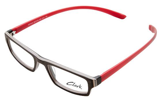Montatura vista  CLARK 874  031  52  19  con lenti protezione LUCE BLU