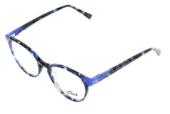 Montatura vista  CLARK 1170  003  50  19  con lenti protezione LUCE BLU