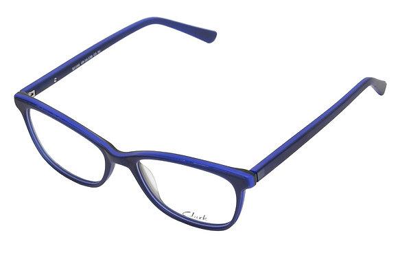 Montatura vista CLARK 1166 003 49 16  completo di lenti da vista antiriflesso