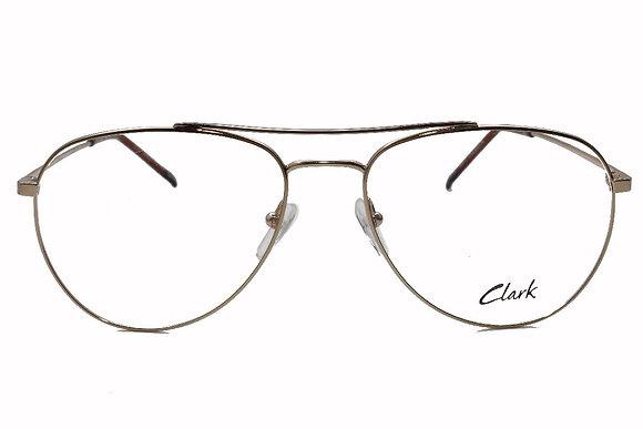 Montatura vista  CLARK 1042  010  56  17  con lenti protezione LUCE BLU