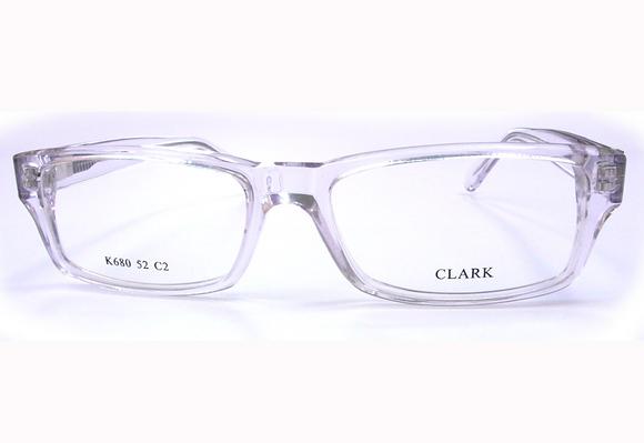 Montatura vista  CLARK 680  002  54  16  con lenti protezione LUCE BLU