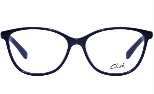 Montatura vista  CLARK 1105  001  54  15  con lenti protezione LUCE BLU