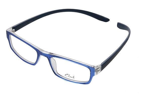 Montatura vista  CLARK 874  027  52  19  con lenti protezione LUCE BLU