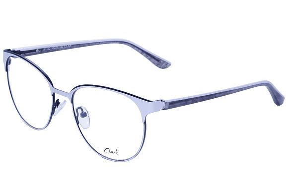 Montatura vista  CLARK 1102  003  53  18  con lenti protezione LUCE BLU
