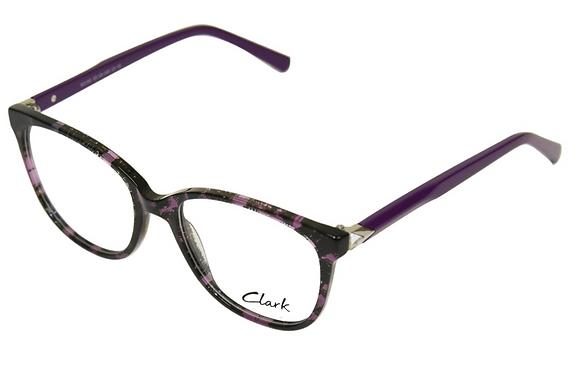 Montatura vista CLARK 1192 003 55 18  completo di lenti da vista antiriflesso