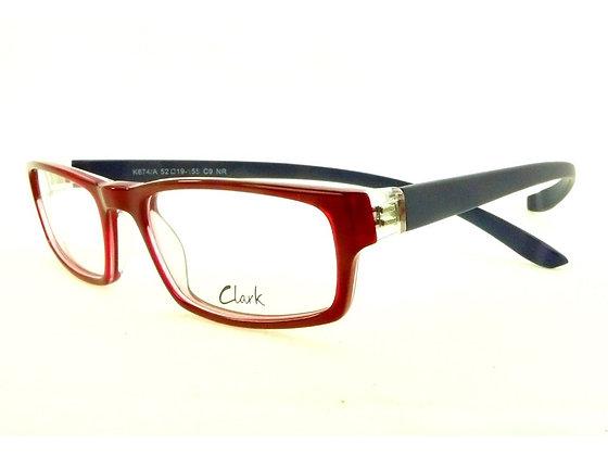 Montatura vista  CLARK 874  009  52  19  con lenti protezione LUCE BLU