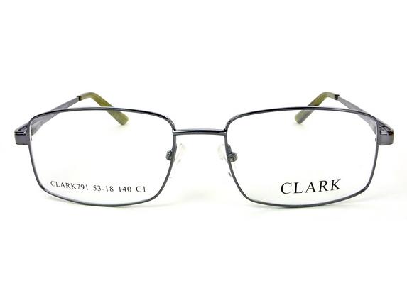 Montatura vista CLARK 791 010 55 18  completo di lenti da vista antiriflesso
