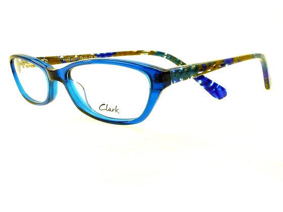 Montatura vista  CLARK 866  009  52  17  con lenti protezione LUCE BLU
