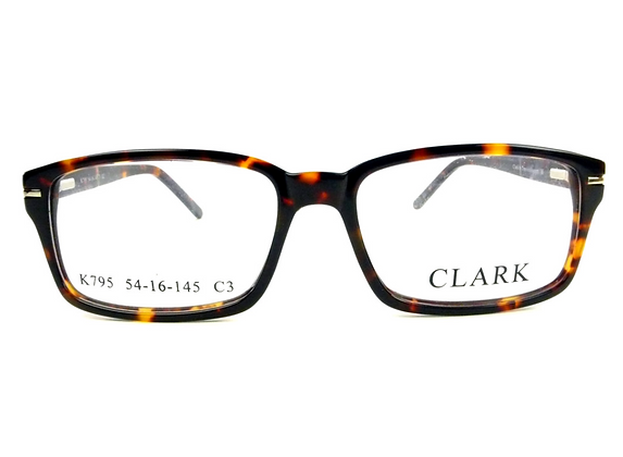 Montatura vista CLARK 795 003 5416  completo di lenti da vista antiriflesso