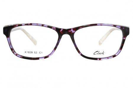 Montatura vista CLARK 1039 001 52 15  completo di lenti da vista antiriflesso