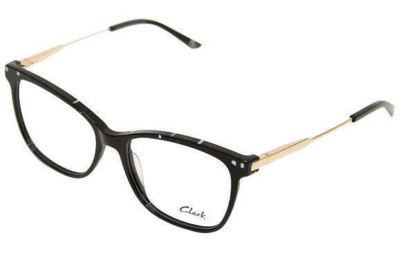 Montatura vista  CLARK 1177  002  54  16  con lenti protezione LUCE BLU