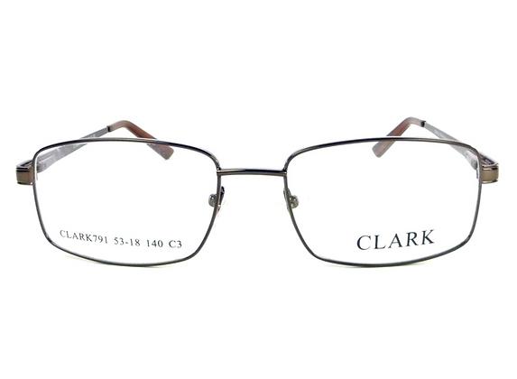 Montatura vista CLARK 791 030 55 18  completo di lenti da vista antiriflesso
