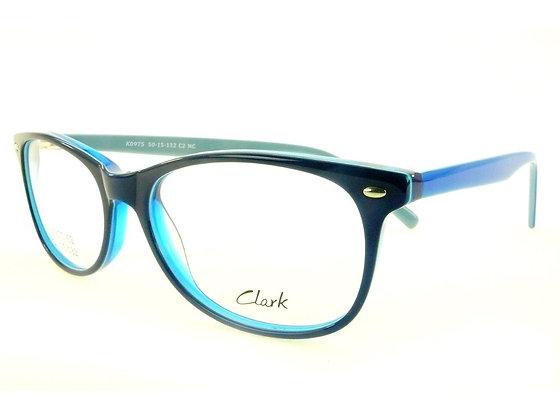 Montatura vista CLARK 975 002 50 15  completo di lenti da vista antiriflesso