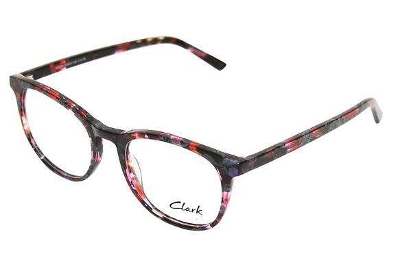Montatura vista CLARK 1183 004 52 20  completo di lenti da vista antiriflesso