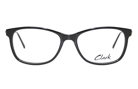 Montatura vista  CLARK 1188  001  54  17  con lenti protezione LUCE BLU