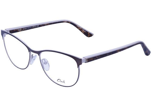 Montatura vista CLARK 1103 002 53 17  completo di lenti da vista antiriflesso