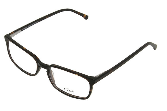 Montatura vista  CLARK 1089  005  53  17  con lenti protezione LUCE BLU