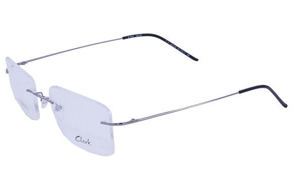 Montatura vista  CLARK 1051  004  52  21  con lenti protezione LUCE BLU