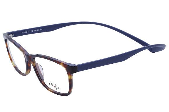 Montatura vista CLARK 1062 002 54 16  completo di lenti da vista antiriflesso