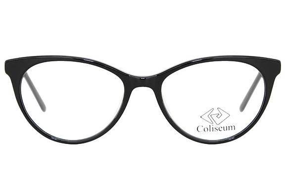 Montatura vista  COLISEUM CL202  001  52  16  con lenti protezione LUCE BLU