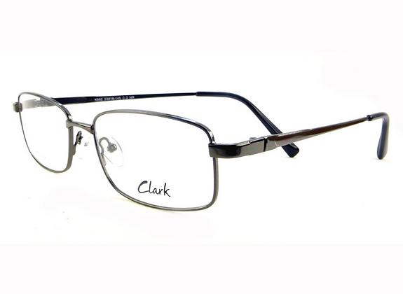 Montatura vista  CLARK 962  002  53  18  con lenti protezione LUCE BLU