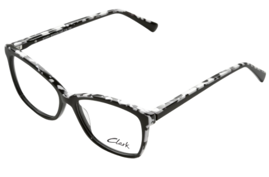 Montatura vista CLARK 1171 004 53 15  completo di lenti da vista antiriflesso