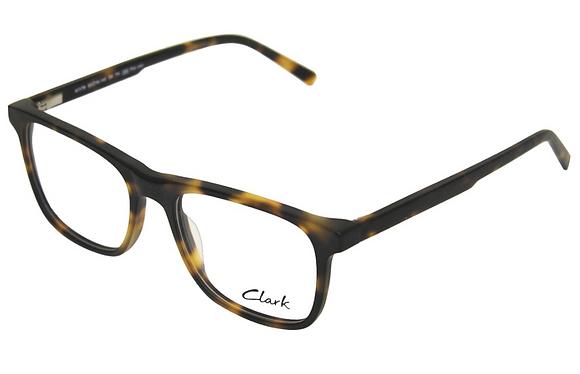 Montatura vista  CLARK 1179  004  53  18  con lenti protezione LUCE BLU