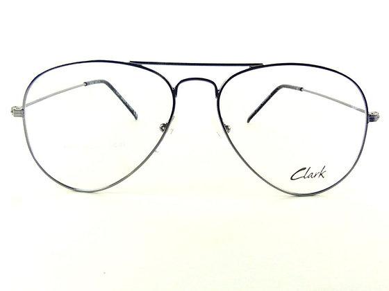 Montatura vista CLARK 914010 56 14  completo di lenti da vista antiriflesso